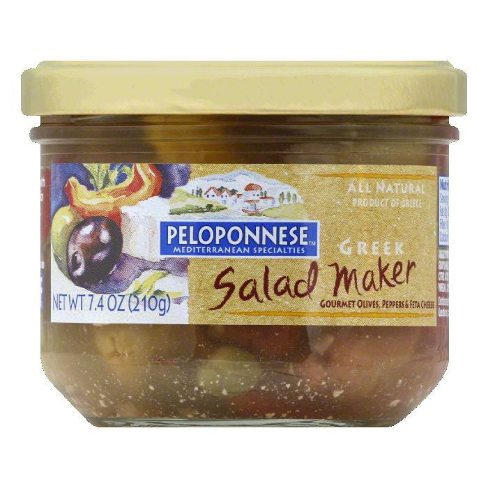 Peloponnese Greek Salad Maker, 7.4 Oz (Pack of 6)