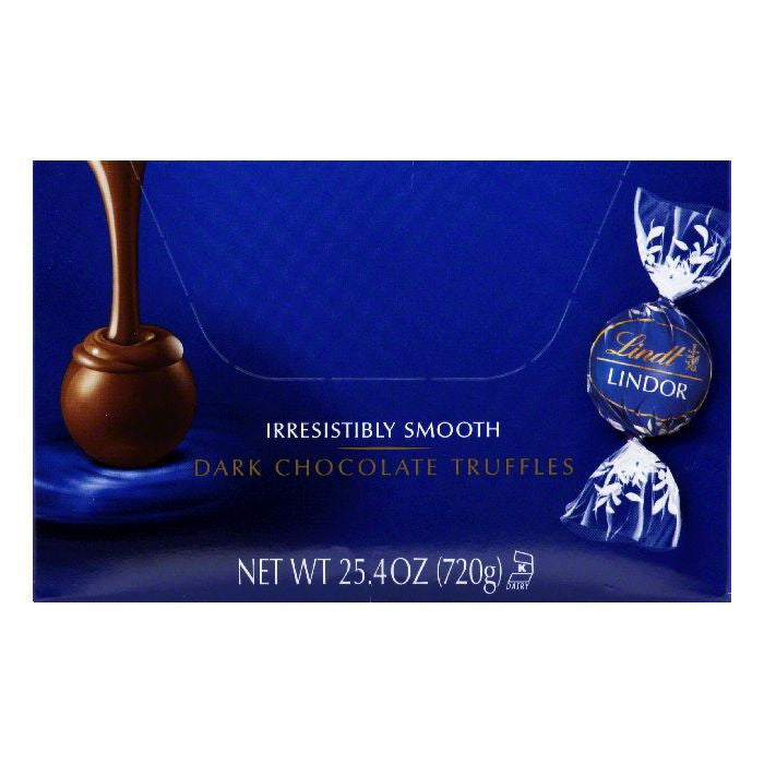 Lindt Dark Chocolate Truffles, 60 ea