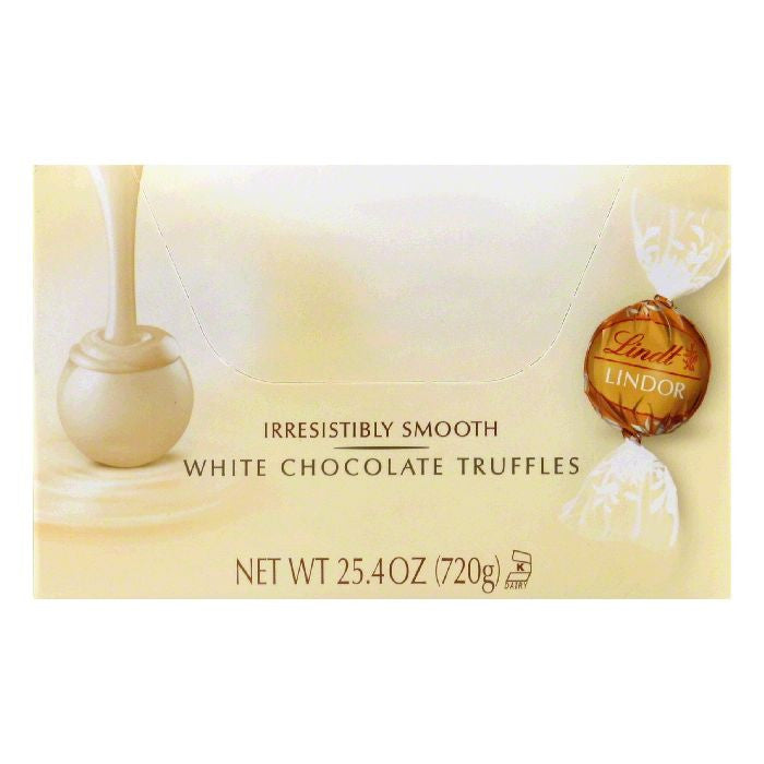 Lindt White Chocolate Truffles, 60 ea