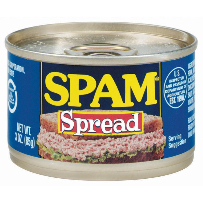 SPAM Spam Spread Meat Spread 3 OZ  (Pack of 24)