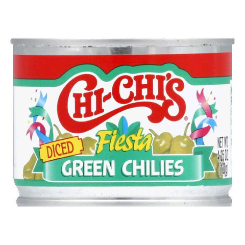 Chi Chi's Diced Green Chilies, 4.25 OZ (Pack of 12)