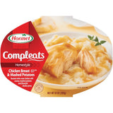 HORMEL Homestyle Chicken Breast & Mashed Potatoes Compleats 10 OZ MICROWAVE BOWL (Pack of 6)
