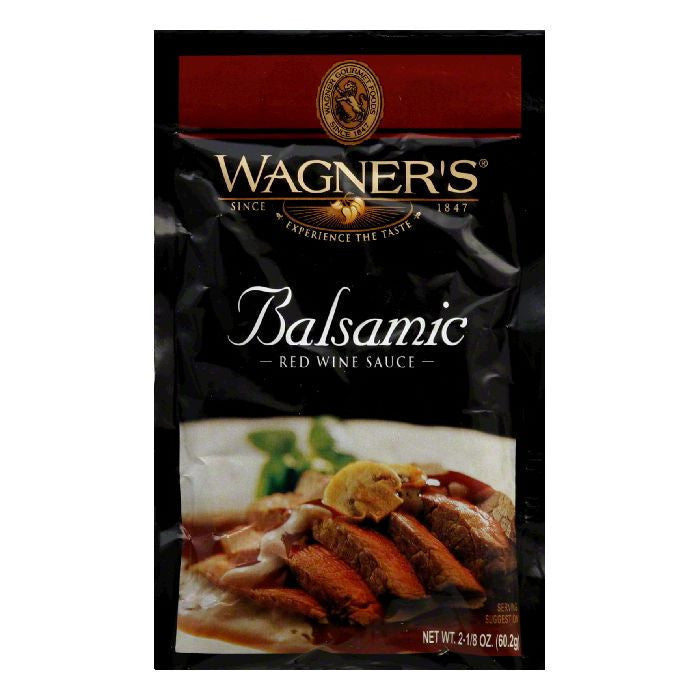Wagner Sauce Mix Balsamic Red Wine, 2.13 OZ (Pack of 6)