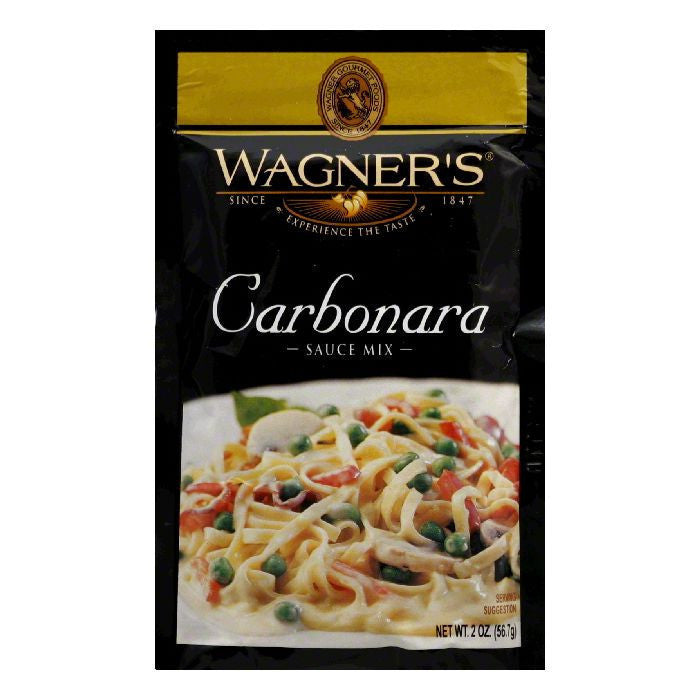 Wagner Sauce Mix Carbonara, 2 OZ (Pack of 6)