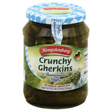 Hengstenberg Bavarian Style Crunchy Gherkins, 24.3 Oz (Pack of 12)