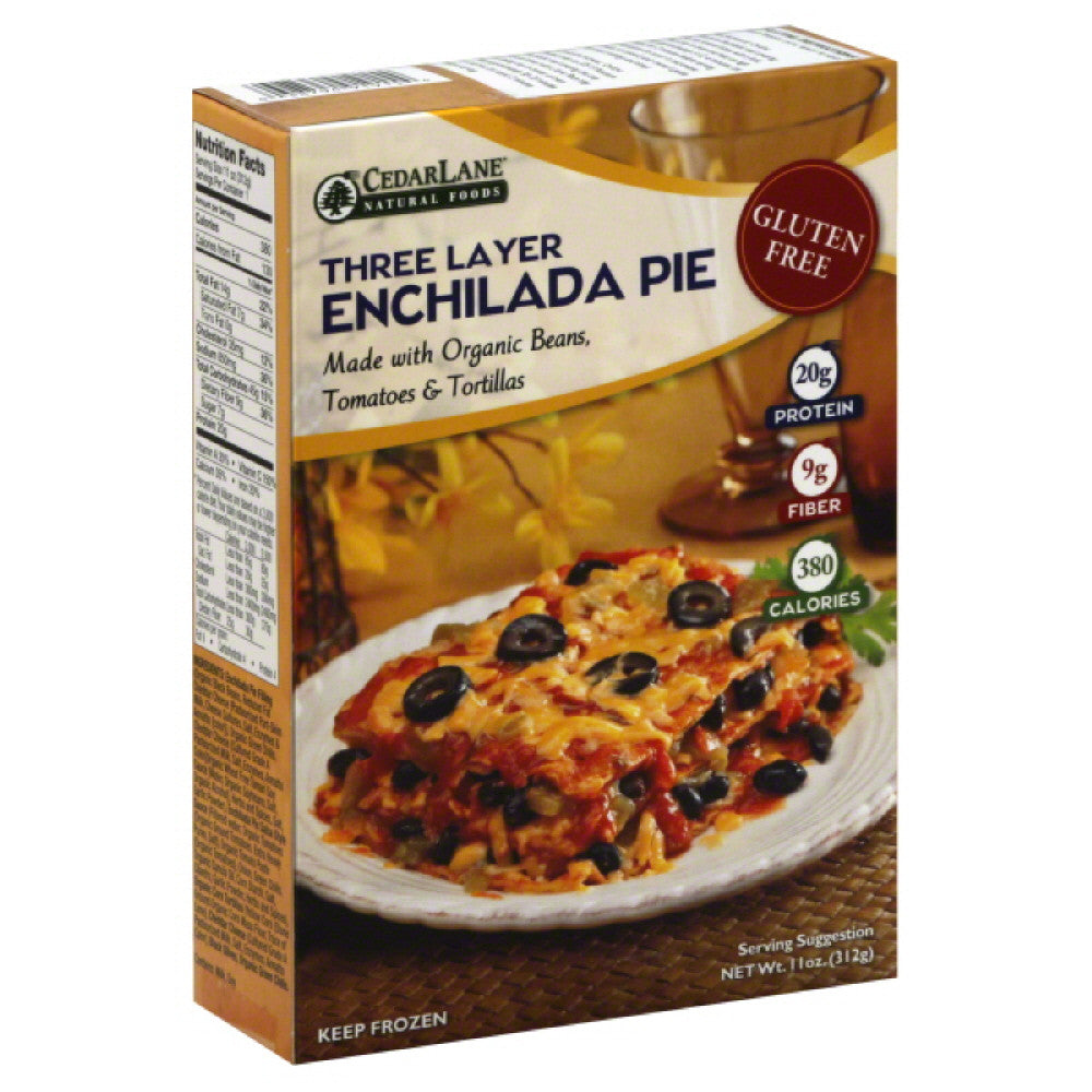 Cedar Lane Three Layer Enchilada Pie, 11 Oz (Pack of 12)