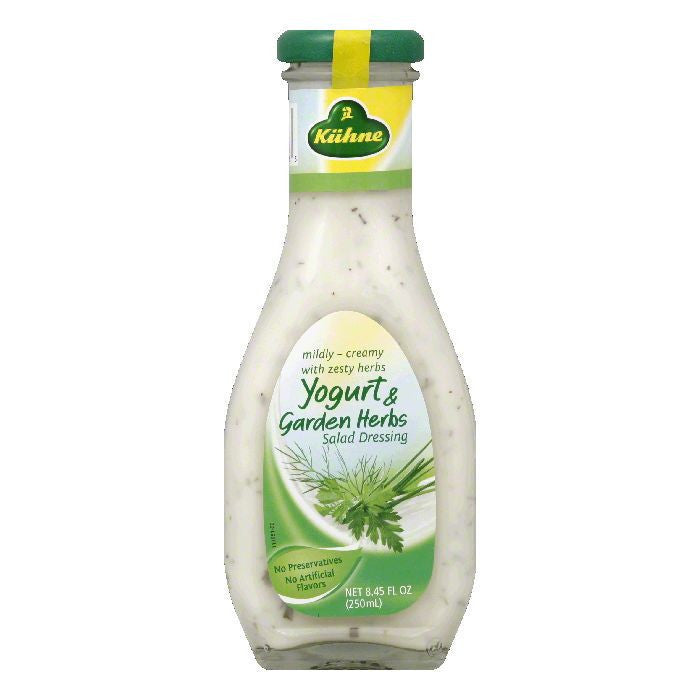 Kuhne Dressing Yogurt and Garden Herb, 8.45 OZ (Pack of 8)
