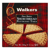 Walkers Pure Butter Shortbread Petticoat Tails, 5.3 OZ (Pack of 6)