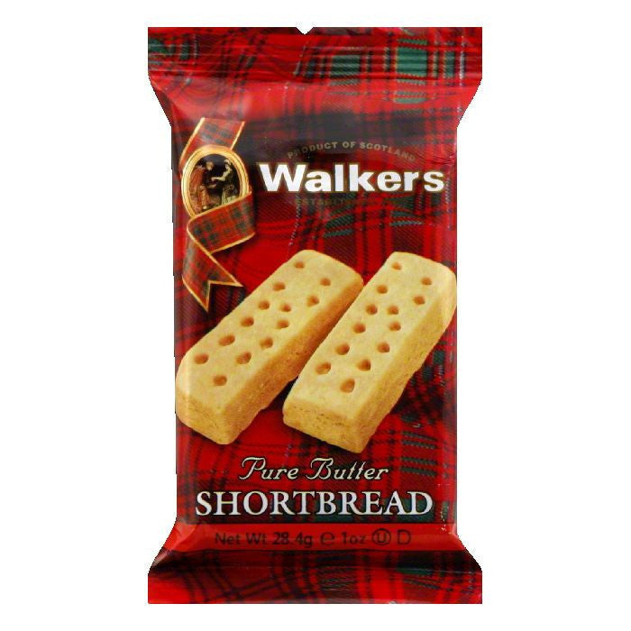 Walkers Twinpack Finger Shortbread, 1 OZ (Pack of 12)