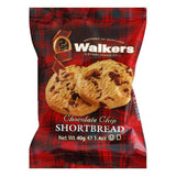 Walkers Shortbread Chocolate Chip single serving pack 2 pack, 1.4 OZ (Pack of 24)