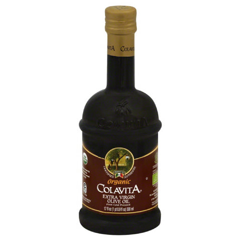 Colavita Organic Extra Virgin Olive Oil, 17 Oz (Pack of 6)