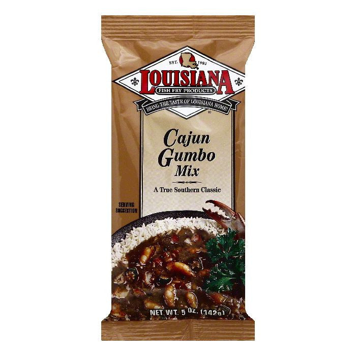 Louisiana Cajun Gumbo Mix, 5 OZ (Pack of 24)