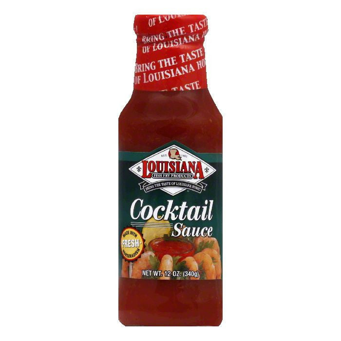 Louisiana Fish Fry Cocktail Sauce with Horseradish, 12 OZ (Pack of 12)