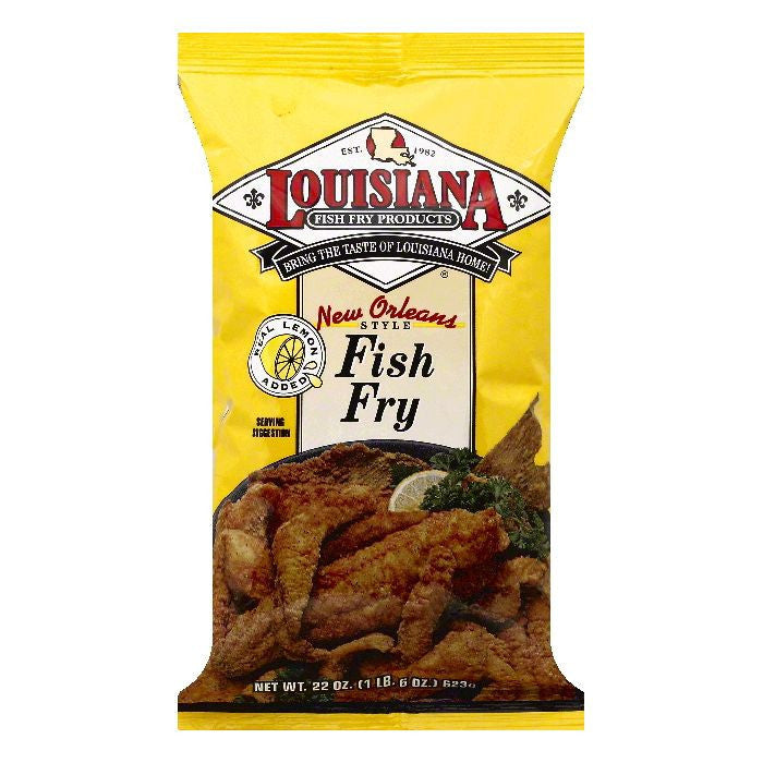 Louisiana New Orleans Style Fish Fry, 22 OZ (Pack of 12)