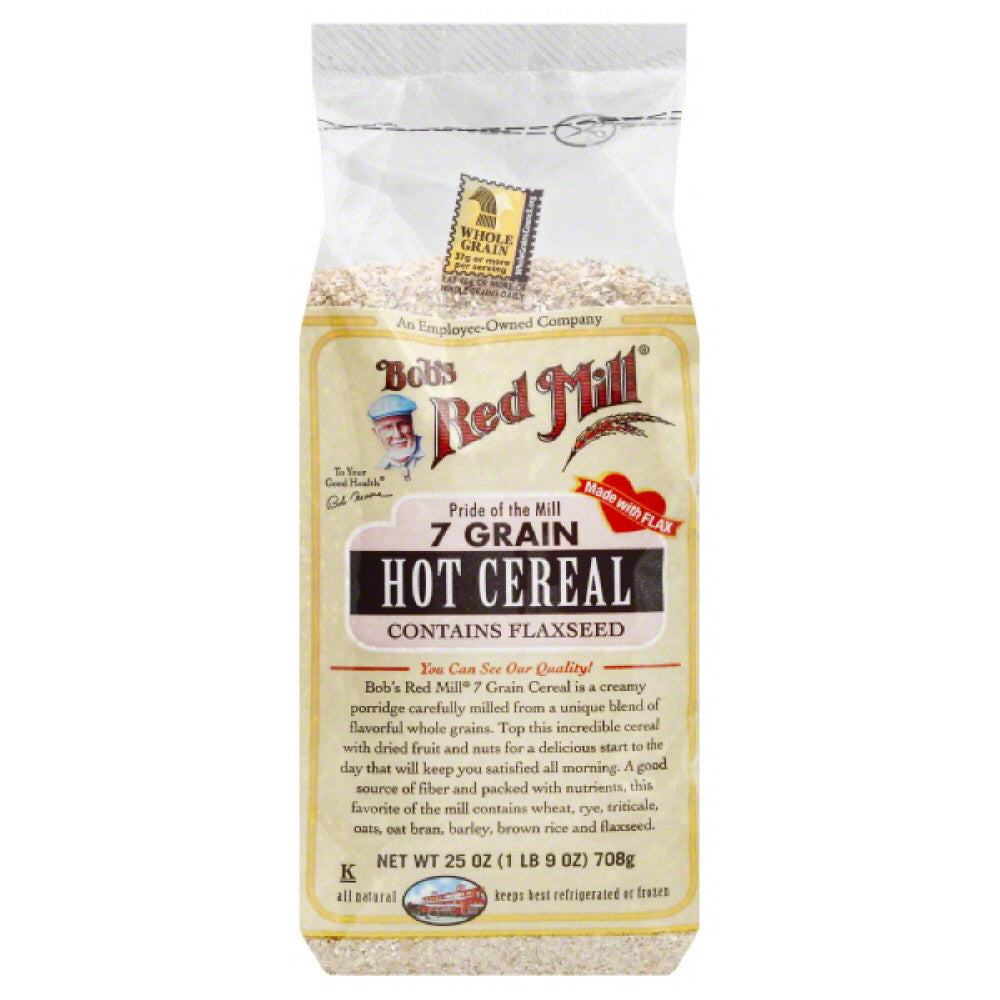 Bobs Red Mill 7 Grain Hot Cereal, 25 Oz (Pack of 4)