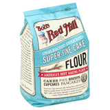 Bobs Red Mill Super-Fine Cake Unbleached Enriched Flour, 3 Lb (Pack of 4)