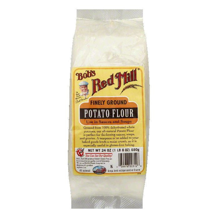 Bobs Red Mill Flour Potato, 24 OZ (Pack of 4)