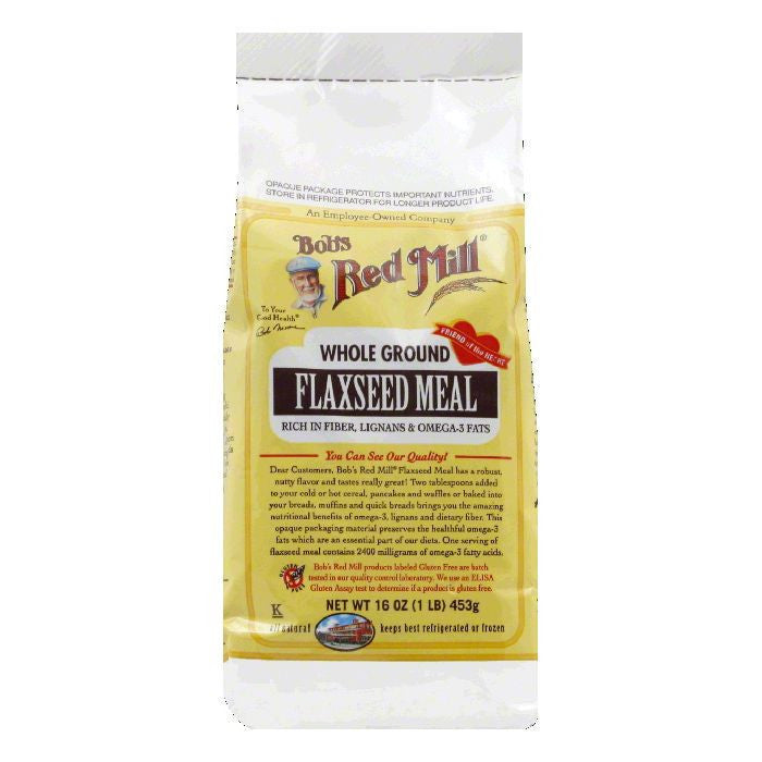 Bobs Red Mill Flaxseed Meal, 16 OZ (Pack of 4)