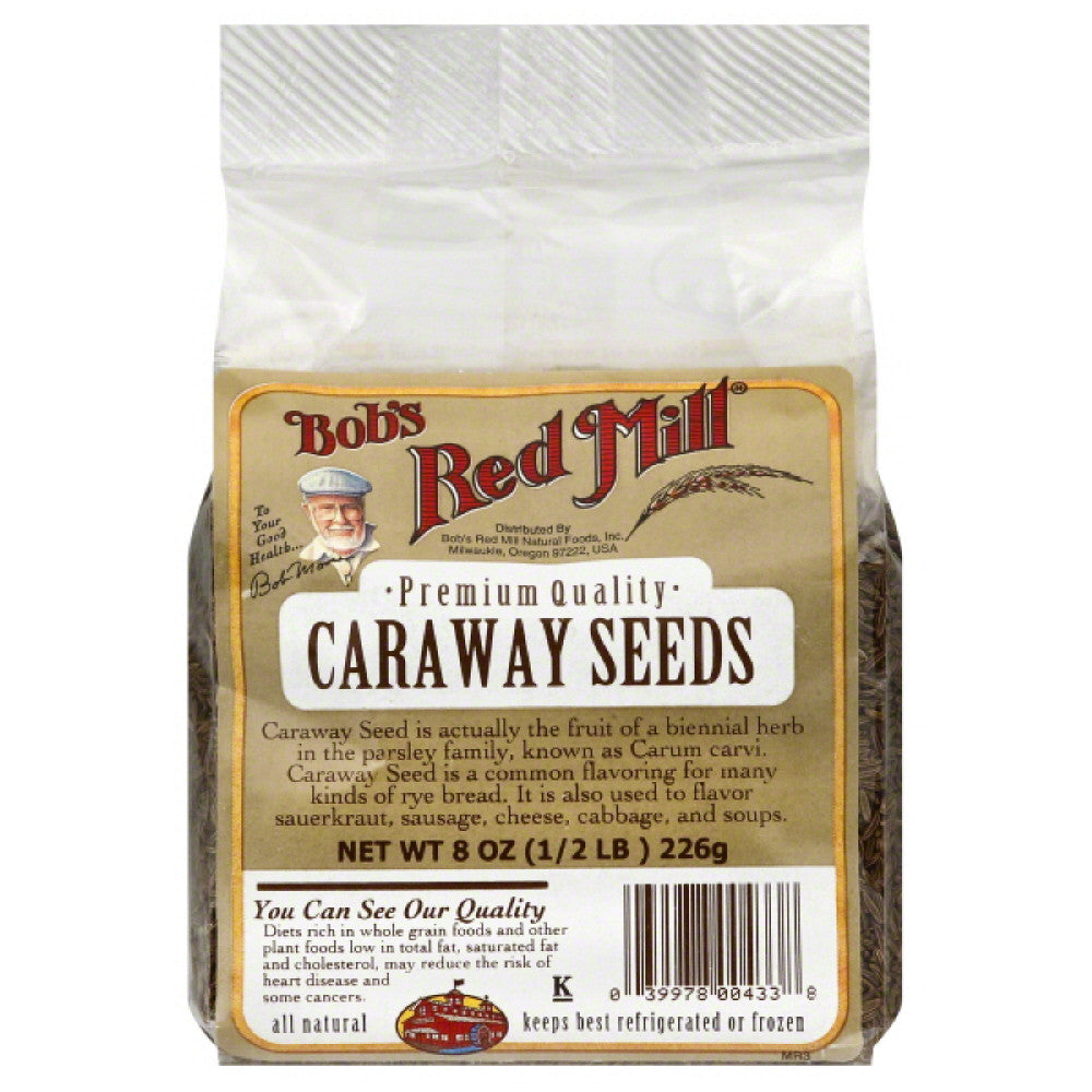 Bobs Red Mill Caraway Seeds, 8 Oz (Pack of 8)