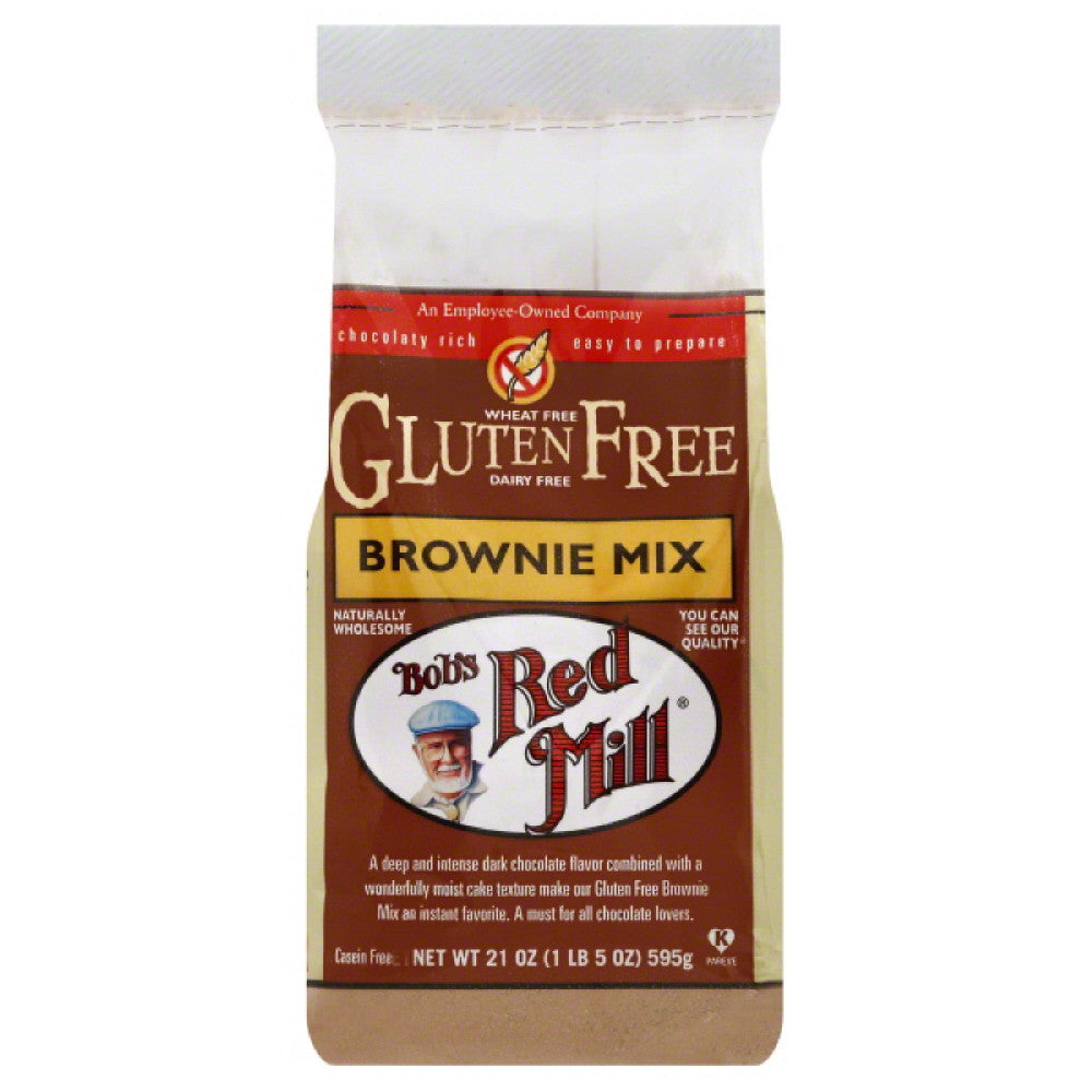 Bobs Red Mill Brownie Mix, 21 Oz (Pack of 4)