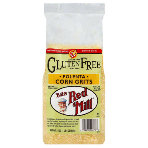 Bobs Red Mill Polenta Corn Grits, 24 Oz (Pack of 4)