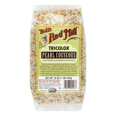 Bobs Red Mill Tricolor Pearl Couscous, 16 Oz (Pack of 4)