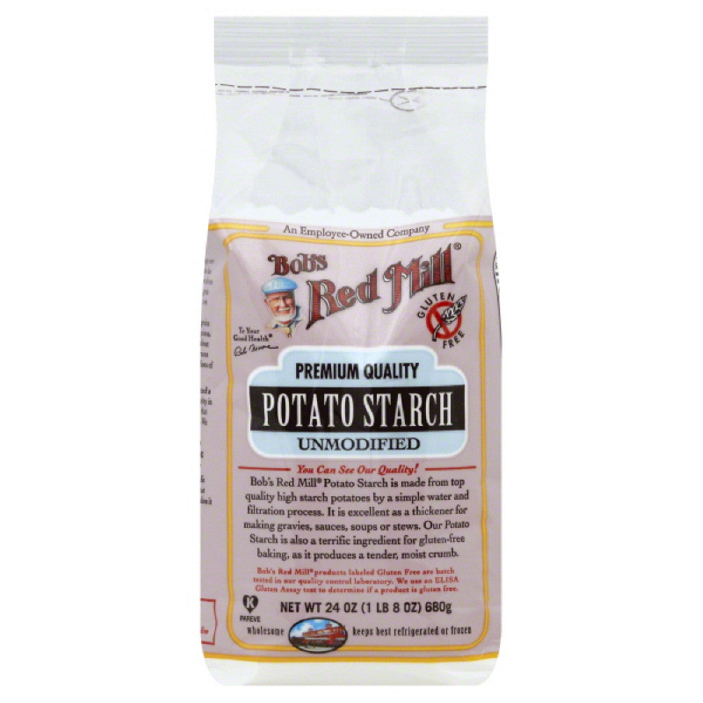 Bobs Red Mill Unmodified Potato Starch, 24 Oz (Pack of 4)