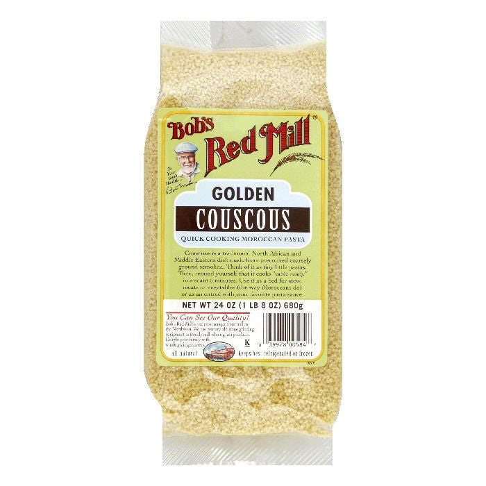 Bobs Red Mill Couscous Golden, 24 OZ (Pack of 4)