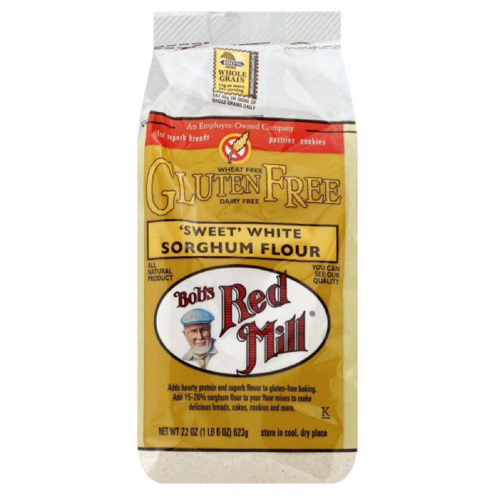 Bobs Red Mill Sweet White Sorghum Flour, 22 Oz (Pack of 4)
