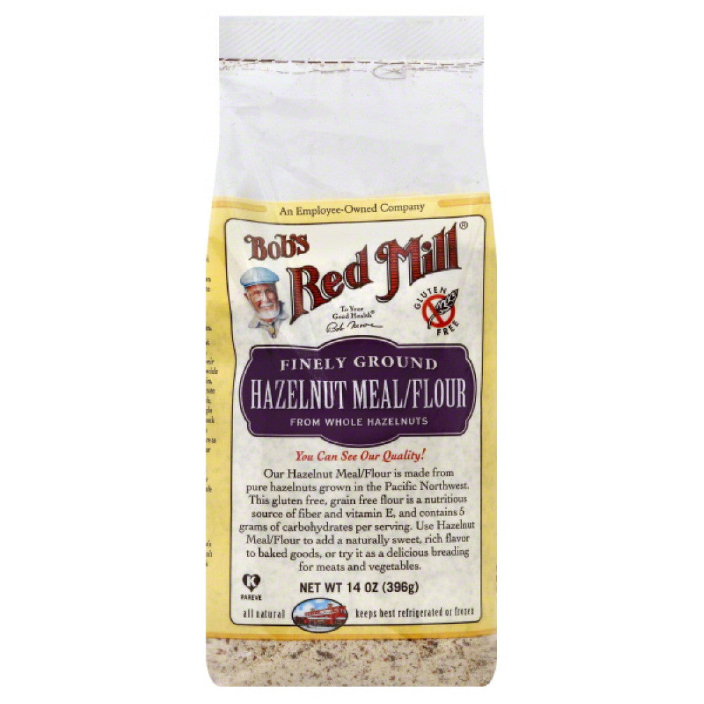 Bobs Red Mill Finely Ground Hazelnut Meal/Flour, 14 Oz (Pack of 4)
