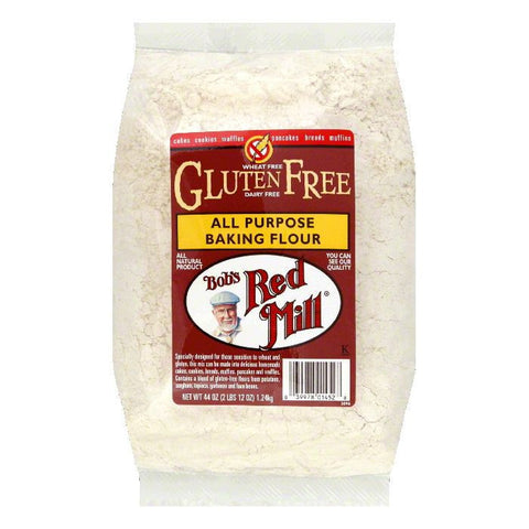 Bobs Red Mill Gluten Free All Purpose Flour, 44 OZ (Pack of 4)