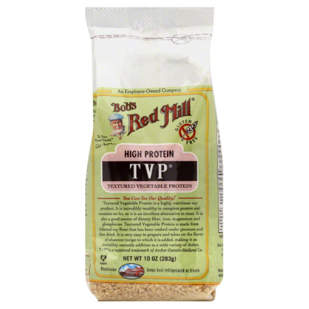 Bobs Red Mill Textured Vegetable Protein, 10 Oz (Pack of 4)