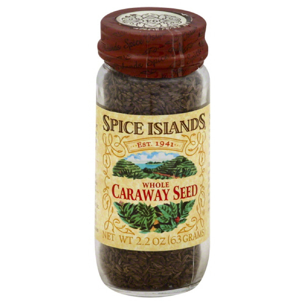 Spice Islands Caraway Seed Whole, 2.2 Oz (Pack of 3)