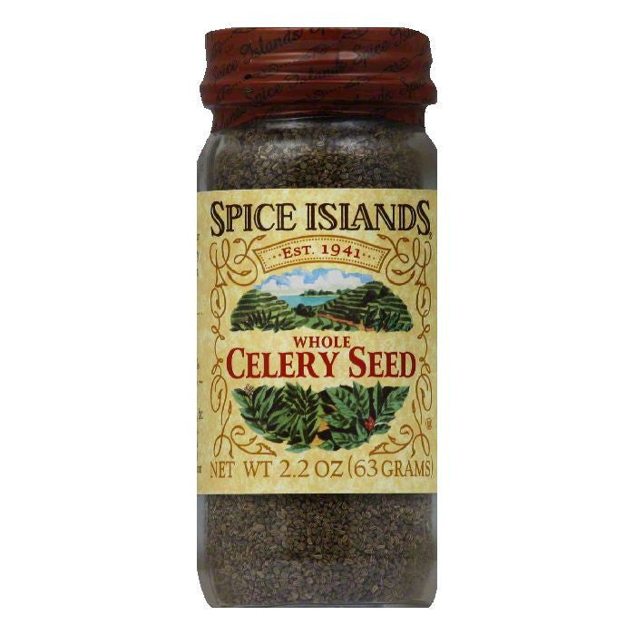 Spice Islands Whole Celery Seed, 2.2 Oz (Pack of 3)