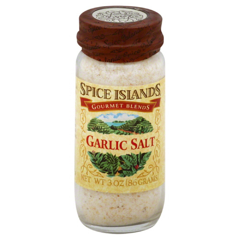 Spice Islands Garlic Salt, 3 Oz (Pack of 3)