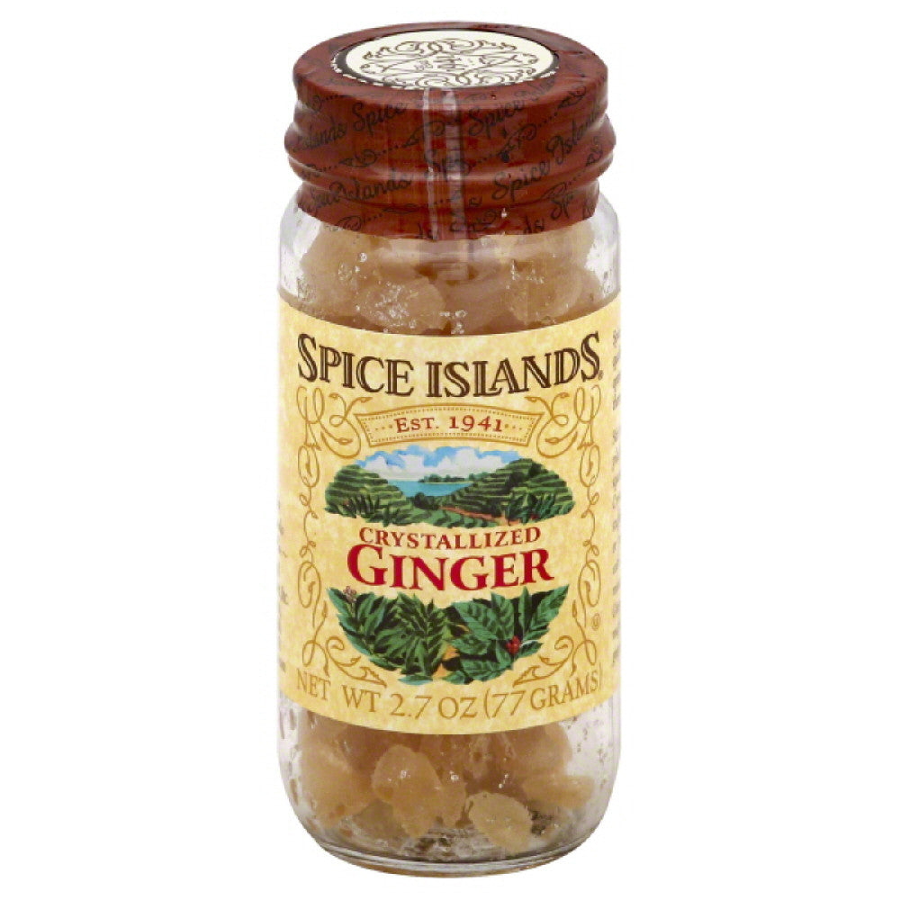 Spice Islands Crystallized Ginger, 2.7 Oz (Pack of 3)