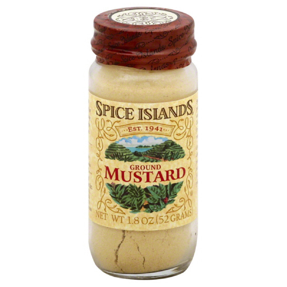 Spice Islands Ground Mustard, 1.8 Oz (Pack of 3)