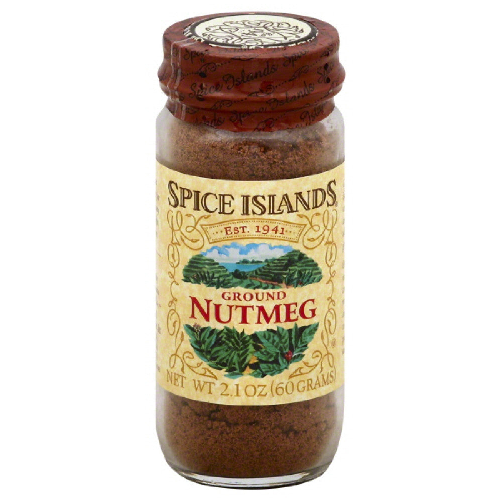Spice Islands Ground Nutmeg, 2.1 Oz (Pack of 3)