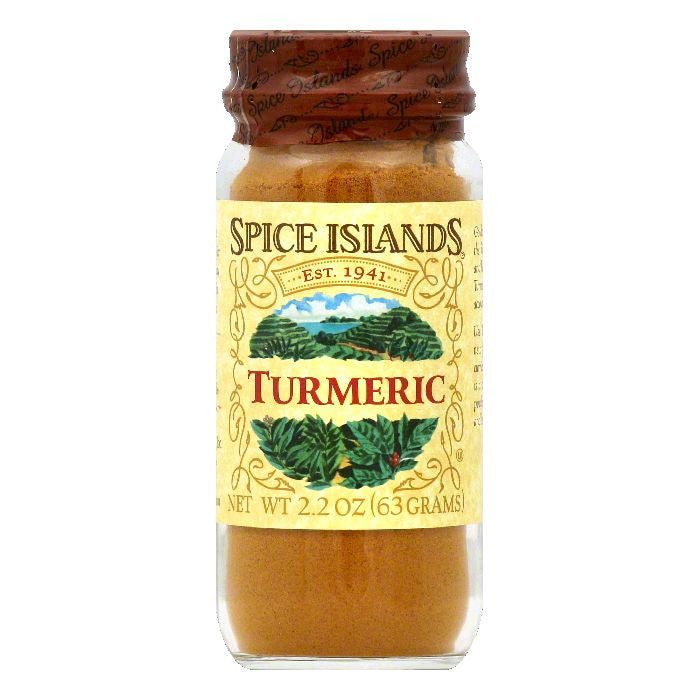 Spice Islands Turmeric, 2.2 OZ (Pack of 3)