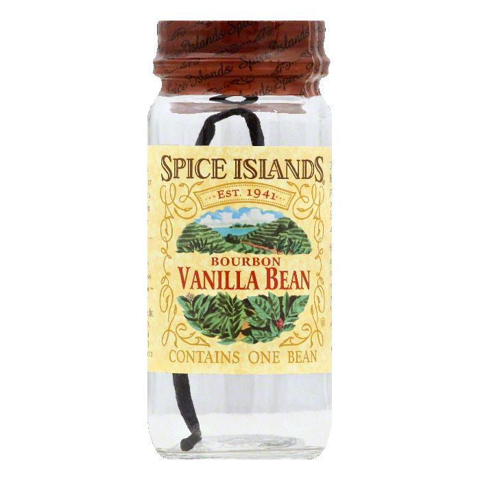 Spice Islands Bourbon Vanilla Bean, 1 ea (Pack of 3)
