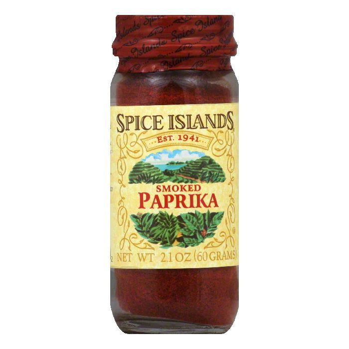 Spice Island Paprika Smoked, 2.1 OZ (Pack of 3)