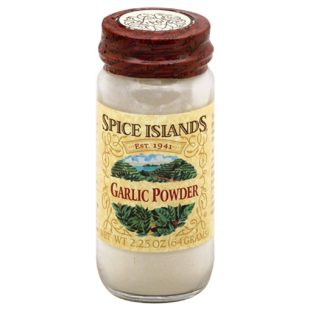 Spice Islands Garlic Powder, 2.25 Oz (Pack of 3)