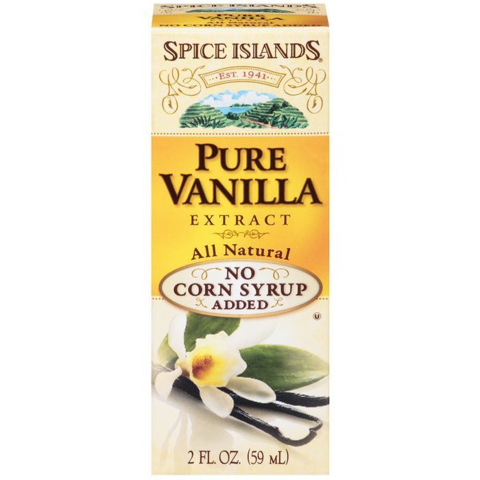 Spice Islands Pure Vanilla Extract 2 fl. Oz  (Pack of 3)