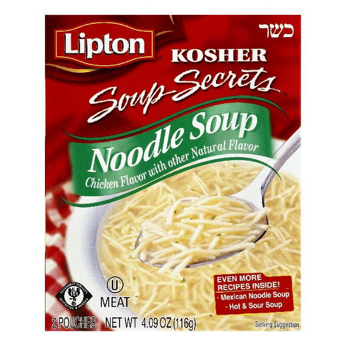 Lipton Kosher Noodle Soup, 2 ea (Pack of 12)