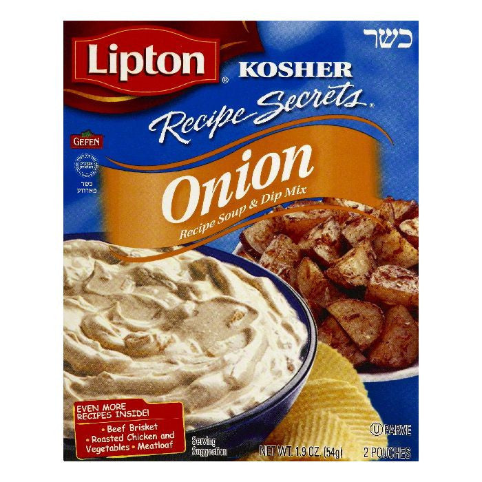 Lipton Onion Recipe Soup & Dip Mix, 2 ea (Pack of 12)