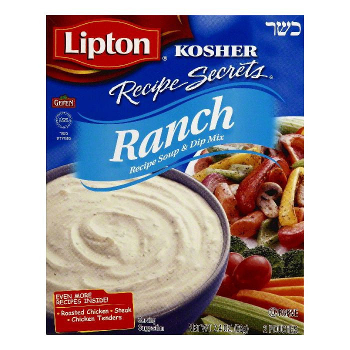 Lipton Ranch Recipe Soup & Dip Mix, 2 ea (Pack of 12)