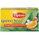 Lipton Superfruit Orange Passionfruit Jasmine Tea Bags 20 ct  (Pack of 6)