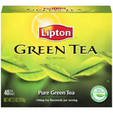 Lipton Pure Green Tea Bags 40 ct  (Pack of 6)