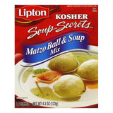Lipton Kosher Matzo Ball Soup Mix, 4.3 OZ (Pack of 12)