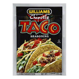 Williams Chipotle Taco Seasoning, 1.25 OZ (Pack of 24)